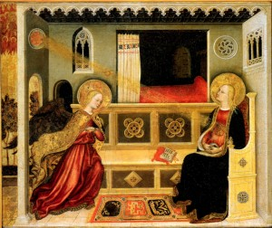 Image of Annunciation by Gentile da Fabriano