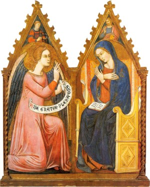 Image of The Annunciation by The Master of Panzano