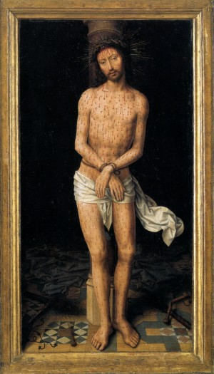 Image of Christ at the Column by Hans Memling