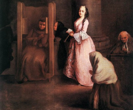 Image of The Confession by Pietro Longhio