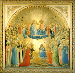 Image of the Coronation of the Virgin by Fra Angelico