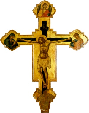 An image of a crucifix by Catarino