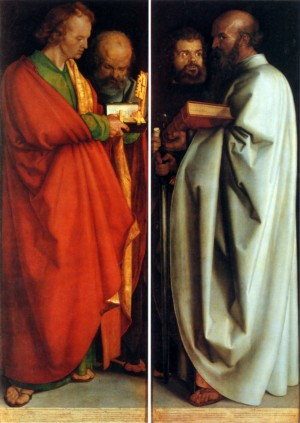 Image of Four Apostles by Albrecht Durer