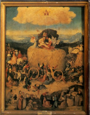 Image of Haywain by Hieronymus Bosch