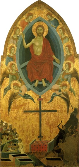 Image of the Last Judgment by Segna di Buonaventure