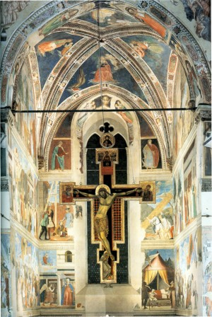 Image of the Legend of the True Cross by Piero della Francesca