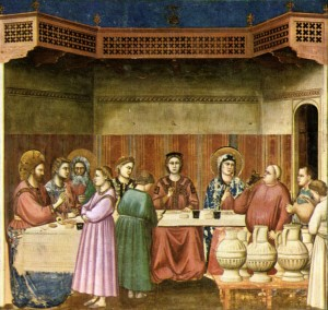 Image of Marriage at Cana by Diotto de Bondone