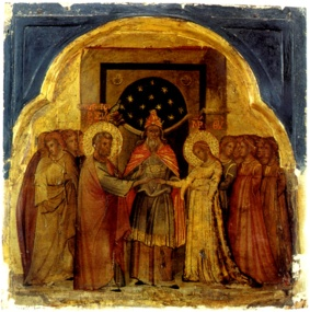 Image of the Marriage of the Virgin by Paolo Veneziano