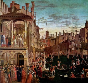 Image of Miracle of the Relic of the True Cross by Vittore Carpaccio
