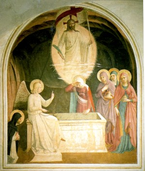 Image of The Resurrection by Fra Angelico