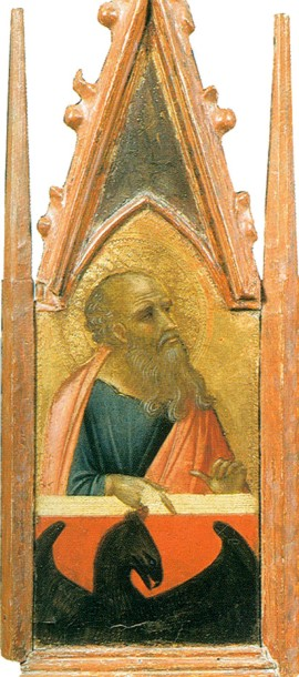 Saint John the Evangelist by Pietro Lorenzetti