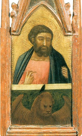 Saint Mark the Evangelist by Pietro Lorenzetti