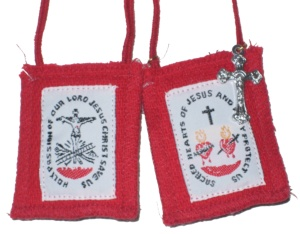 A photo of a Scapular by John Stephen Dwyer
