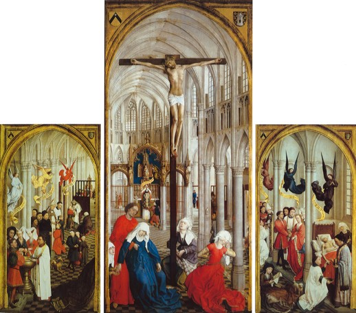 Image of The Seven Sacraments by Rogier Van Der Weyden