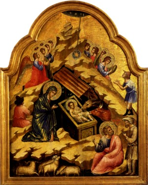 Image of The Nativity by Lorenzo Veneziano