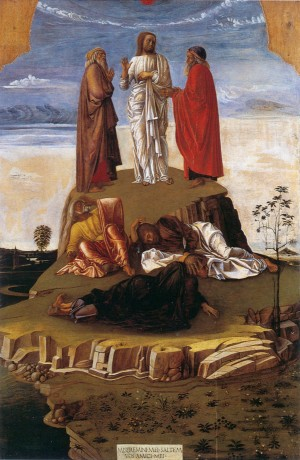 Image of a painting of the Transfiguration of Christ by Paolo Veronese
