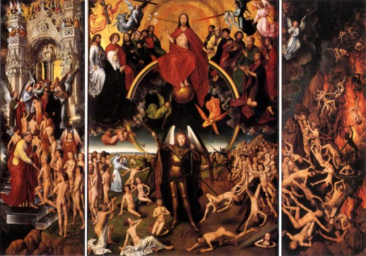 Image of the Tryptych with The Last Judgment by Hans Memling