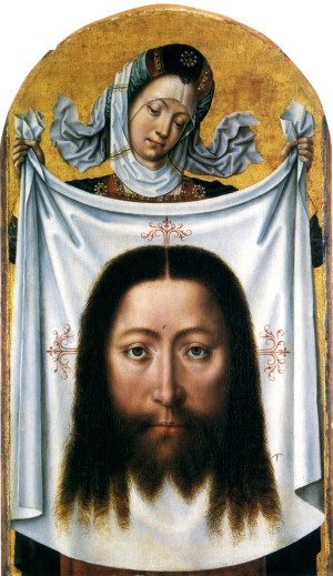 Image of St Veronica with the Sudarium by the Master of Saint Ursula Legend