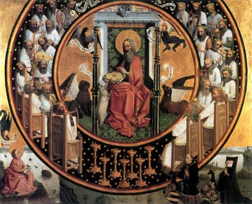 Image of Vision of St John the Evangelist by the Master of Vision of St John