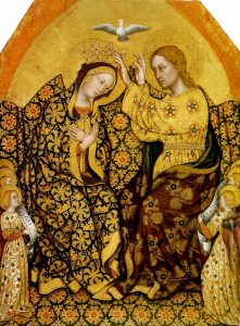 Coronation of the Virgin by Gentile da Fabriano