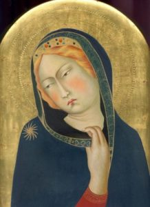 Image of Madonna and Child by Simone Martini